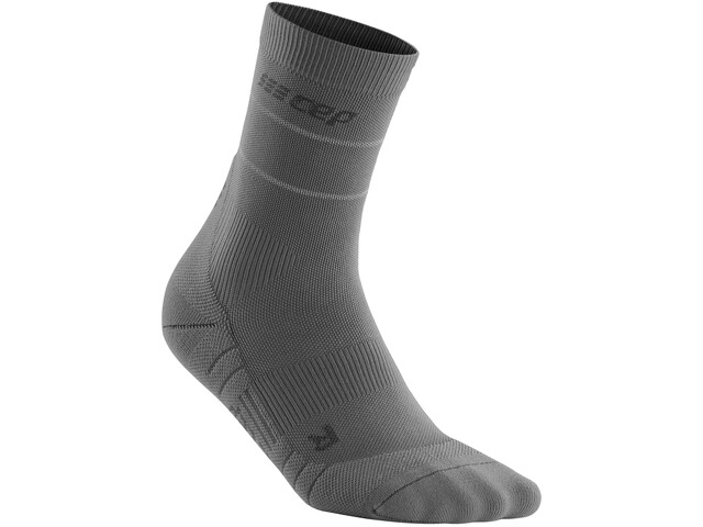 cep Reflective Mid Cut Socks Women, gris